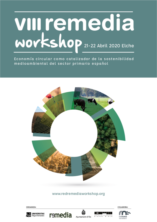 Save the date! VIII REMEDIA Workshop, 21-22 de abril de 2020 en Elche